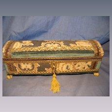 Vintage Velvet Tapestry Box