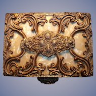 Ornate Brass Box