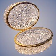 Oval Crystal Box