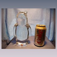 Olle Alberious for Orrefors Large Crystal Bear