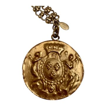 Kenneth J Lane Lady Of The Manor Necklace