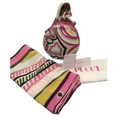 Emilio Pucci Handbag and Scarf