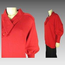 1970's Yves Saint Laurent Rive Gauche Pullover Sweater Jacket