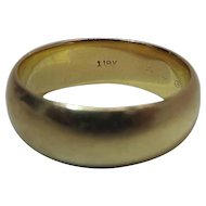 Classic Vintage 7.15-mm 18K Yellow Gold Wedding Band - 9.5 Grams