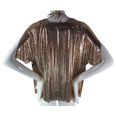 1970's Vintage Anthony Ferrara For Whiting & Davis Metal Mesh Jacket