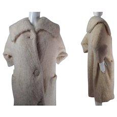 Plush 1950's / 1960's Vintage Jacques Griffe De Paris Coat