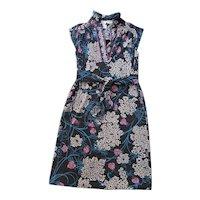 1970's Pucci Cashmere, Wool & Silk Dress W/ Saks Pucci Boutique Retailer's Label