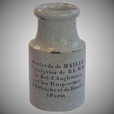 Antique French Mustard Jar