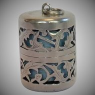 Sterling Silver Thread Holder, American C. 1900