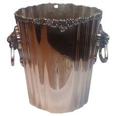Victorian Silverplate Champagne Bucket