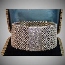 Victorian Sterling Bracelet