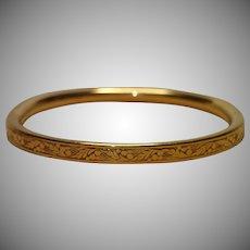 Vintage 12K Gold Fill Baby Bracelet By Le Stage