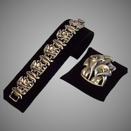 Sterling McClelland Barclay Bracelet & Brooch