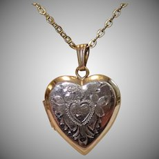 Vintage 12K Gold Fill Locket