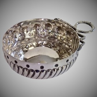 Antique Sterling Tastevin , French C.1880