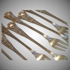 Vintage Fairmont Hotel Seafood Cocktail Forks