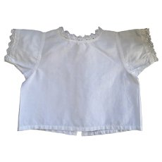 French Doll Blouse, Handmade , C. 1890