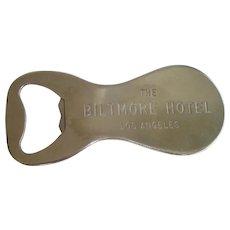 Vintage Bottle Opener / Shoe Horn, ...... The Biltmore Hotel Los Angeles