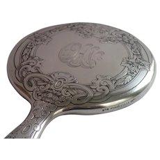 Antique Gorham Sterling Hand Mirror