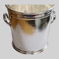 Vintage Sheraton Hotel Silver Champagne Ice Bucket