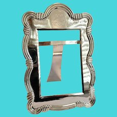 Savoy Hotel London Picture Frame ; Prince's Plate By Mappin & Webb ...... Rare !