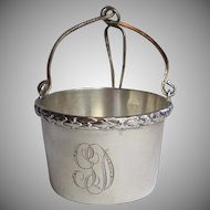 Antique Sterling Tea Basket  Infuser, French , Circa 1900