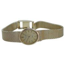 Patek Philippe Solid 18K Solid Gold Manual Wind Ladies Watch Bracelet IOS 50gr