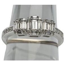 Diamond Ring Anniversary Band 14K Gold