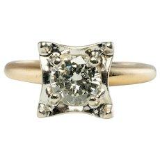 .75ct Diamond Solitaire Engagement Ring Gold LoveLand 14K Gold
