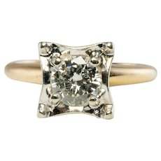 .75ct Diamond Solitaire Engagement Ring Gold LoveLand  14K Gold