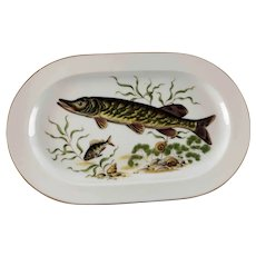 Large Western Germany Fish Platter  - JKW  - c 1955