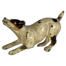 Antique Vienna Bronze Jack Russell Terrier Dog