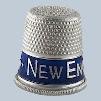 Vintage Advertising Thimble New England Coke – Aluminum