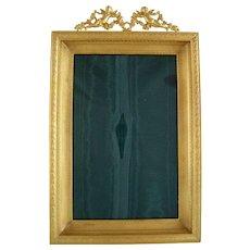 Large Dore Bronze Cherub Frame - Picture Photo - c 1880
