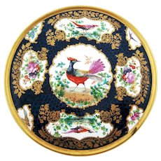 Trivet Blue Scale Game Birds - Booths Silicon China