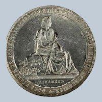 Mold for Grand Tour Plaster Intaglios – Figure of Germania – circa 1830