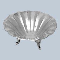 German 835 Silver Dish Bowl Flower Form