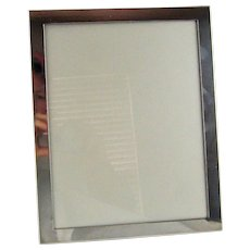 Large Antique Gorham Sterling Silver Picture Frame