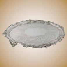 James Dixon Antique Sheffield Silver Plate Tray – circa 1840