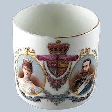 Coronation King George V Queen Mary Mug – June 22, 1911