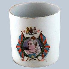 Queen Victoria Jubilee Mug Union Jack Flags