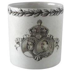 Doulton Queen Victoria Jubilee Commemorative Mug