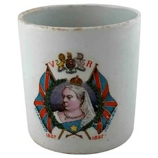 Queen Victoria Diamond Jubilee Commemorative Mug 1897
