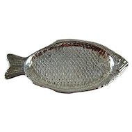 Vintage Reed Barton Fish Form Tray Silver Plate