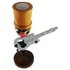 Mid-Century Man Top Hat Guitar Bottle Opener Salt