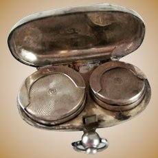 Double Sovereign Case Sterling Silver Birmingham 1904
