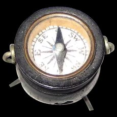 Victorian Bog Oak Witches Cauldron Stanhope and Compass – Scenes Hoylake