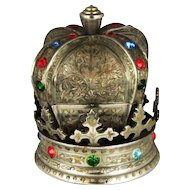 Small Fred Zimbalist Jeweled Crown Music Jewelry Box – Edelweiss