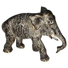Antique Vienna Bronze Elephant Cold Paint