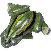 Vintage Tiny Vienna Bronze Frog – c 1940